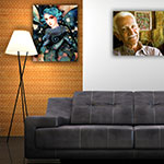 JetMaster Photo Panel: Use Multiple sizes for distinctive home décor