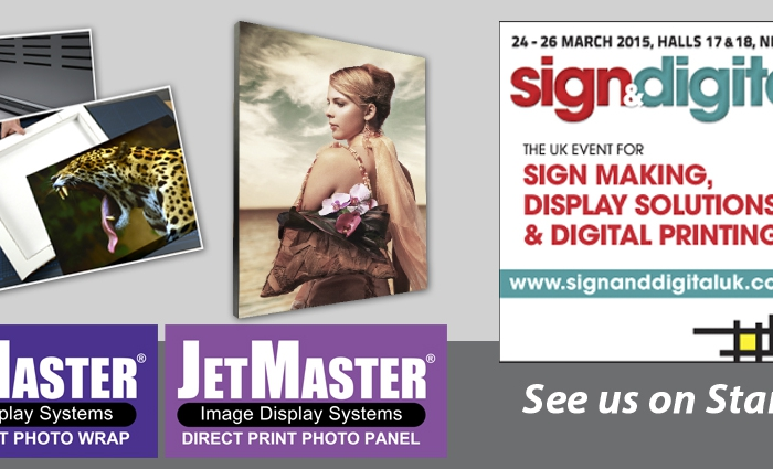 See JetMaster Image Display Systems by Innova at Sign and Digital UK 2015