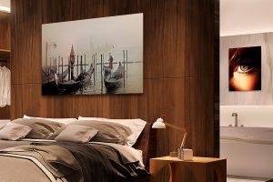 JetMaster Metal displayed in bedroom